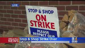 Stop & Shop Workers' Strike Over, Tentative Agreements Reached [Video]