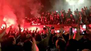 PAOK fans celebrate 1st Greek league title in 34 years in crazy style [Video]
