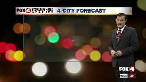 Forecast: Monday morning will be much cooler with lows in the 50's with a clear sky [Video]