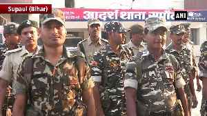 Police CRPF conduct flag march ahead of phase 3 in Bihar [Video]
