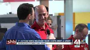 41 Action News weather team greets fans Saturday [Video]