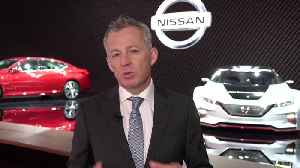 News video: Nissan at the 2019 NYIAS - Roel de Vries, Corporate Vice President