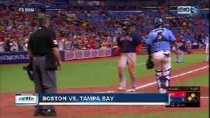 News video: Boston Red Sox beat AL East-leading Tampa Bay Rays 4-3 in 11 to finish sweep