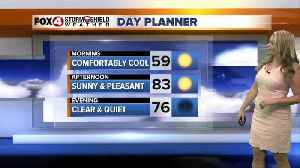 FORECAST: Sunny and Warm Monday [Video]