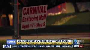 Multiple fights break out at carnival outside Eastpoint Mall in Dundalk; police on scene [Video]