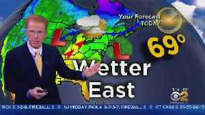 New York Weather: Rain Ahead This Afternoon [Video]