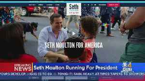 Seth Moulton Officially Launches 2020 Presidential Campaign [Video]