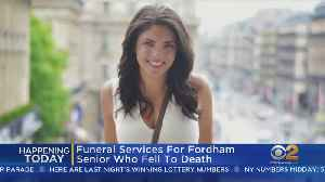 Fordham University Student Funeral Today [Video]