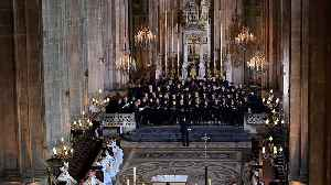 Notre Dame choir vows to sing on [Video]