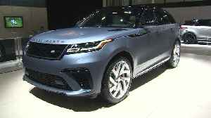 Land Rover Vehicles at the NYIAS 2019 [Video]