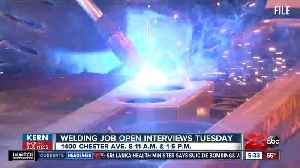 Kern Back In Business: 10 welding jobs available this week in Bakersfield [Video]