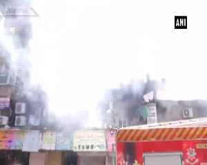 Fire breaks out at Mumbai Crawford Market [Video]