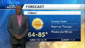 Sunny and Warmer this Afternoon [Video]