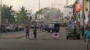 Further explosion near St Anthony's Church in Colombo [Video]