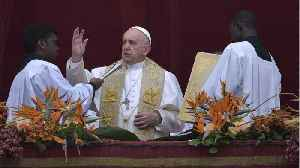 News video: Pope Francis Condemns Sri Lanka Attacks