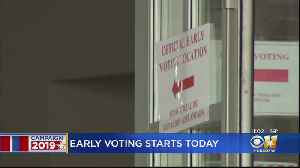 Early Voting In Joint Elections Begins Today [Video]