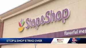 Shoppers return to grocery stores after strike [Video]