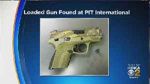 Gun Confiscated From W.Va. Woman At Pittsburgh International Airport Checkpoint [Video]