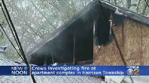 Crews Investigating Fire At Harrison Twp. Apartment Complex [Video]
