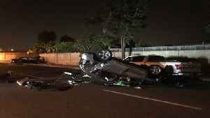 Man Killed, Another Injured in California 3-Vehicle Crash [Video]