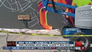 New Mural in Bakersfield [Video]