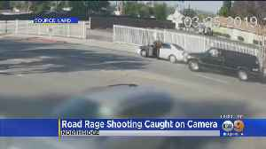 Man Sought In Northridge Road Rage Shooting That Left Driver Critically Wounded [Video]