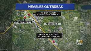 Measles Cases Grow Across U.S., 4 Reported In Maryland [Video]