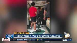 Teens accused in taco shop attack face judge [Video]