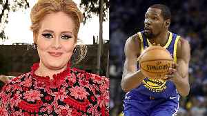 Kevin Durant SHOOTS HIS SHOT At Adele After She Announces Divorce With Husband! [Video]