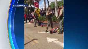 WEB EXTRA: Cell Phone Footage Shows Confrontation Where BSO Deputies Pepper Spray, Punch Teen In Head [Video]