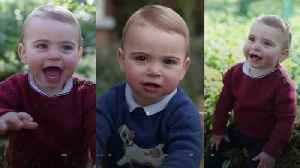 News video: Prince Louis photographs for First Birthday
