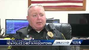 After shooting, injured Masontown officer returns to work as new police chief [Video]
