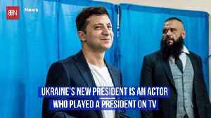 Meet Ukraine's New Unusual President [Video]