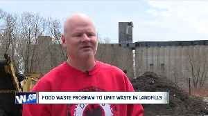 Buffalo is launching a food waste composting program to limit waste in landfills [Video]
