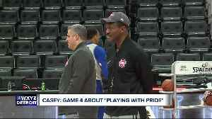 News video: Dwane Casey: Game 4 about playing with pride