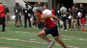 NFL hopeful from UA plans to see 'The Avengers' on draft day [Video]