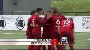 Chattanooga Red Wolves Defeat Tormenta [Video]