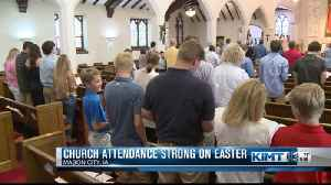 Church attendance strong on Easter [Video]