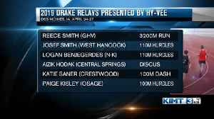 Drake Relays qualifiers announced [Video]