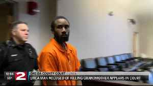 Utica man accused of killing grandmother, setting apartment on fire offered plea deal [Video]