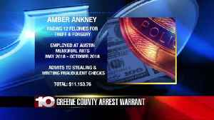 Arrest warrant issued for a woman that allegedly stole thousands from her uncle's business in Gree [Video]