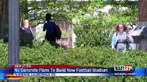 No concrete plans to build new football stadium at UNA [Video]