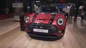 The new Mini Clubman at Auto Shanghai 2019 [Video]