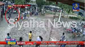 Video Shows Backpack-Wearing Sri Lanka Suicide Bombing Suspect Walking Into Easter Service [Video]