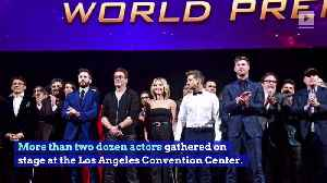 'Avengers: Endgame' Stars Make Emotional Speeches at Premiere [Video]