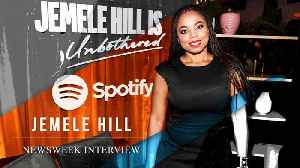 Jemele Hill Dishes On New Podcast 'Unbothered' And Twitter Brush With President Trump [Video]