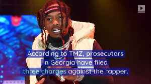 Offset Faces Felony Gun Charges From 2018 Arrest [Video]