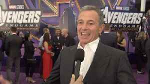 'Avengers: Endgame' Premiere: Disney Chairman and CEO Bob Iger [Video]