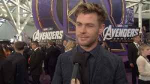 'Avengers: Endgame' Premiere: Thor-Chris Hemsworth [Video]