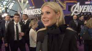 'Avengers: Endgame' Premiere: Gwyneth Paltrow-Pepper Potts [Video]